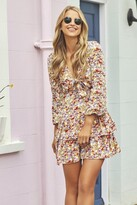 Thumbnail for your product : Little Mistress by Vogue Williams Tiered Ruffle Mini Dress