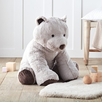 The White Company Giant Bear Toy, Natural, One Size