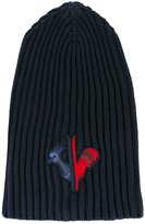 Rossignol logo embroidered beanie - men - Polyamide - One Size