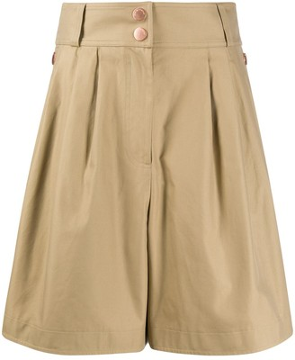 See by Chloe Knee-Length Cotton Shorts