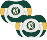 Baby Fanatic MLB Oakland Athletics 2 Pack Pacifier