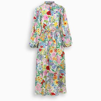 Gucci Ken Scott print midi dress