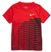 Nike Toddler Boy's Linear Stagger Dri-Fit T-Shirt