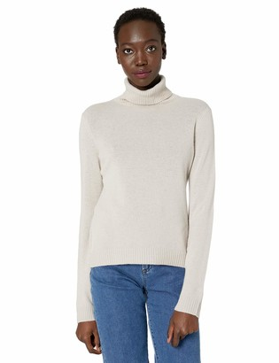 Private Label Cashmere Addiction Women's Long Sleeve Turtle Neck Sweater