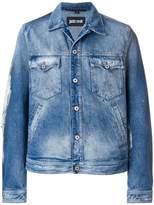 Just Cavalli fitted denim jacket