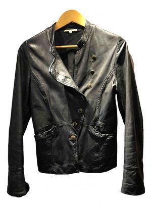 BA&SH Black Leather Jackets