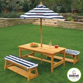 Kid Kraft Outdoor Table and Bench Set