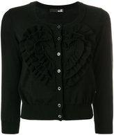 Love Moschino fitted knitted cardigan