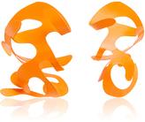 Rosie Assoulin Roxanne Assoulin for Neon Orange Large Sculptural Earrings