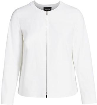 Lafayette 148 New York, Plus Size Juno Fundamental Bi-Stretch Jacket