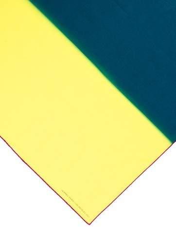 Hermes 2017 Dwntwn Men 70cm Tie-Dye Scarf