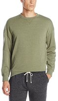 Alternative Men's Light French Terry Quilted Crew Neck Sweatshirt