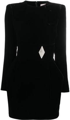 Alexandre Vauthier Structured Mini Dress