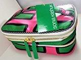 Sonia Kashuk 3 Tier Train Case Cosmetic Bag Stripe
