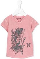 Zadig & Voltaire Kids glitter print T-shirt