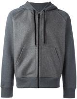 Ami Alexandre Mattiussi zipped hoodie - men - Cotton/Wool - M