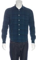 Simon Miller Warren Plaid Flannel Shirt