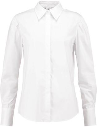 Iris & Ink Agatha Cotton-blend Poplin Shirt