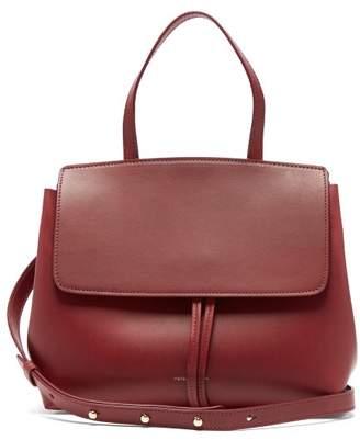 Mansur Gavriel Mini Lady Leather Cross-body Bag - Womens - Burgundy