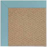 Zeppelin Tufted Bright blue/ Brown Indoor / Outdoor Use Area Rug Longshore Tides Rug Size: Rectangle 2' x 3'