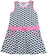 Coccoli Hearts Print Dress