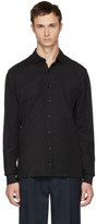 Kolor Black Jersey Button-up Shirt
