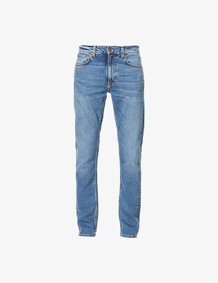 Nudie Jeans Lean Dean slim-fit tapered jeans