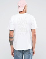 Huf Spacer T-shirt With Back Print
