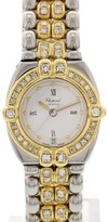 Chopard GSTAAD 32/8112 18K Yellow Gold & Stainless Steel Diamond 24mm Watch