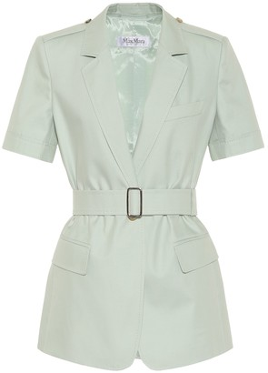 Max Mara Cesare cotton safari jacket