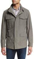 Armani Collezioni Four-Pocket Field Jacket, Sand