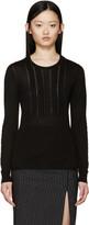 Burberry Black Cashmere Sweater