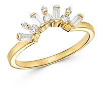 Bloomingdale's Diamond Chevron Ring in 14K Yellow Gold, 0.35 ct. t.w. - 100% Exclusive