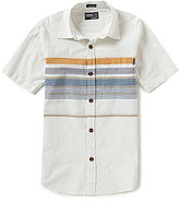 O'Neill Big Boys 8-20 Waters Chest-Stripe Short-Sleeve Shirt