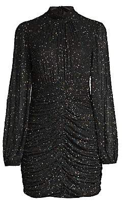 Jay Godfrey Women's Farre Beaded High-Neck Mini Dress
