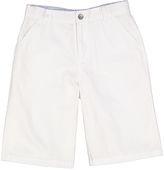 E-Land Kids White Chino Shorts - Boys