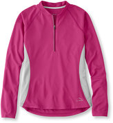 L.L. Bean Women's Comfort Cycling Jersey, Long-Sleeve