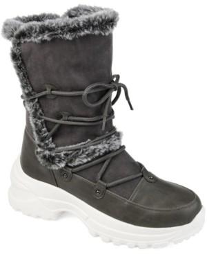 Journee Collection Women's Polar Fashion Winter Boot Women's Shoes