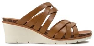 Bare Traps Baretraps Bonnita Strappy Slip-on Wedge Sandals Women's Shoes