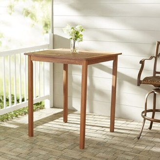 Folse Solid Wood Bar Table Brayden Studio
