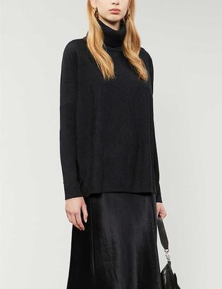 AllSaints Koko Wrap wool jumper