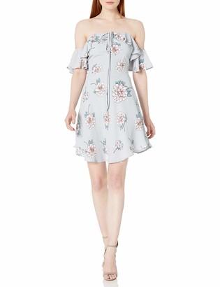 J.o.a. Women's Cold Shoulder Halter Dress
