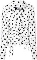 Jacquemus polka dot blouse - women - Silk/Polyester/Viscose - 36