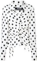 Jacquemus polka dot blouse