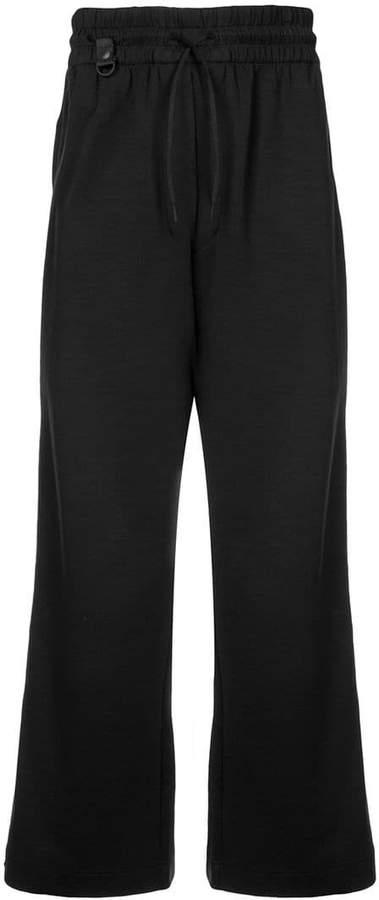 Y-3 drop-crotch track pants