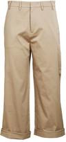 N°21 N21 Cropped Trousers