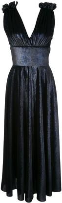 Christian Siriano V-neck dress