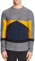NATIVE YOUTH Barometer Color Block Sweater
