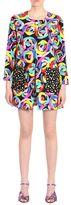 Moschino Flower Print Coat