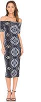 Rachel Pally Jagger Midi Dress in Blue. - size XS (also in )